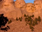 Mount Rushmore at Sunset
