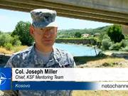 Kosovo force builds New Bridges