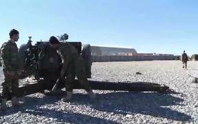 Afghan National Army Heavy weapons Training