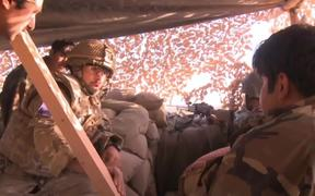 Afghan Army train to take on the Fight