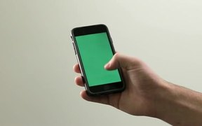 iPhone 6 in Hand - Chroma Key/Green Screen