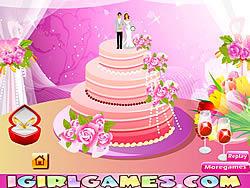 Design Perfect Wedding Cakes Game Play Online At Y8 Com