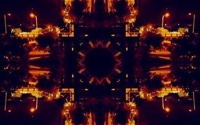 Abstract Kaleidoscope City