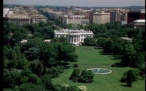 Aerial View of the National Mall