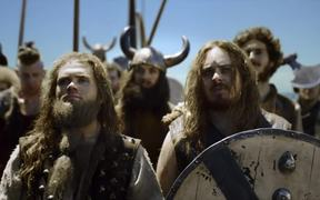 V Energy Drink Commercial: Vikings