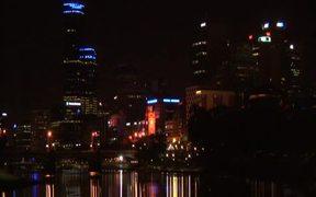 Melbourne City Lights