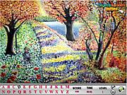Flower Garden Hidden Alphabets