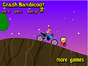 Crash Bandicoot Bike 2