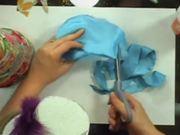 How To Make A Scrap Fabric Xmas Tree
