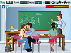 Classroom Kissing Game Game - Play online at Y8.com