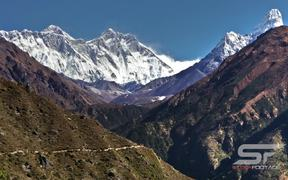Beautiful Nepal in Ultra HD - Everest Sunset View