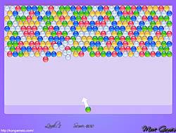 لعبة bubble shooter مهكرة