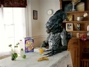 Raisin Bran Crunch Commercial Alien Miles Melman