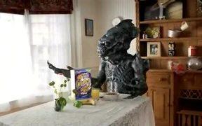 Raisin Bran Crunch Commercial Alien Miles Melman