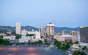 Salt Lake City Nightime Timelapse