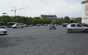 Arc de Triumph Stock Video in HD