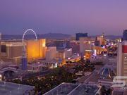Beautiful lights of Las Vegas strip in Ultra HD