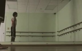 Gymnast HD Stock Video