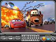 Cars 2 Find the Alphabets