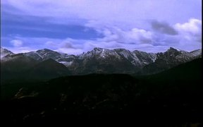 Mountains Time Lapse HD Stock Video