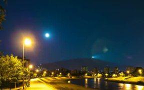 Timelapse of the Full Moon