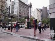 Crossing the Street in San Francisco
