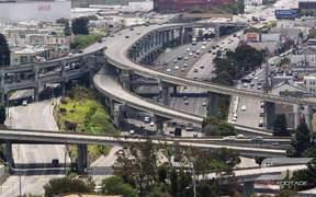 San Francisco Freeway Timelapse
