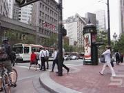 Crossing the Street in San Francisco