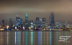 Time Lapse Reflection of Seattle in Ultra HD