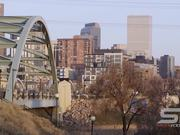 Panorama from the Platte River Bridge Slow Motion