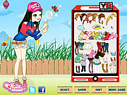 Fun Bubble Girl Dressup