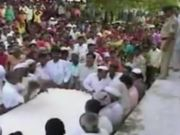 Indian Baby Dropping Ritual