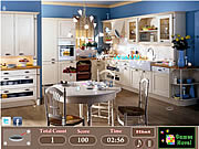 Modern Kitchen Hidden Objects