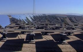 Concentrating Solar Power Tower Technology B-Roll