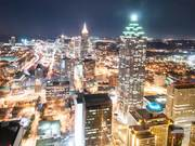 Timelapse View Over Atlanta