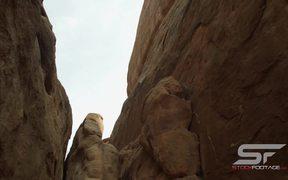 High Walls of Sandstone Fins