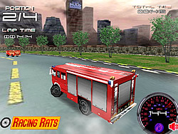 Fire Truck Racer 3D Game - Play online at Y8 com