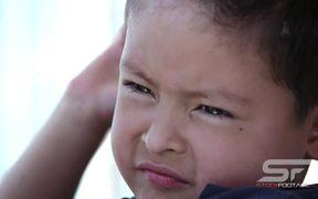 Close Up of Boy's Face