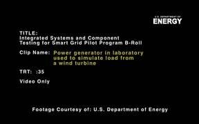 Smart Grid Pilot Program – Colorado B-Roll