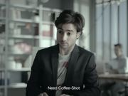Coffee Shot Commercial: Wakes You Up