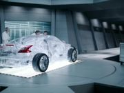 Shell Helix Commercial: Crystal Car