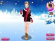 Dressup Winter Girl
