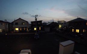 Amazing Sunset Timelapse from Tokushima Japan