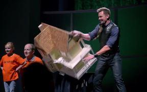 Berocca Commercial: Dollhouse with Joel McHale