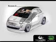 Fiat 500 In The Spanish Cinemas