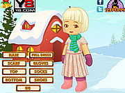 X mas Snow Kid Dress Up