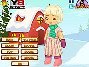 X mas Snow Kid Dress Up