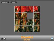 Zombie Game Sliding