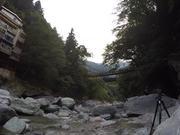 Iya River and Kazura Suspension Bridge