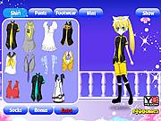 Dress Up Anime Girl